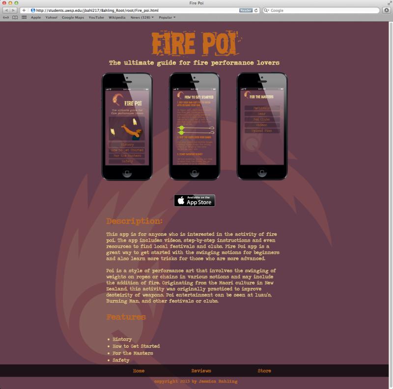 App Website